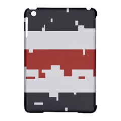 Girl Flags Plaid Red Black Apple Ipad Mini Hardshell Case (compatible With Smart Cover) by Mariart