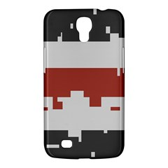 Girl Flags Plaid Red Black Samsung Galaxy Mega 6 3  I9200 Hardshell Case by Mariart