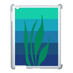 Gender Sea Flags Leaf Apple Ipad 3/4 Case (white) by Mariart