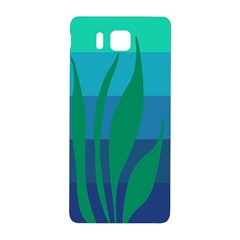 Gender Sea Flags Leaf Samsung Galaxy Alpha Hardshell Back Case by Mariart