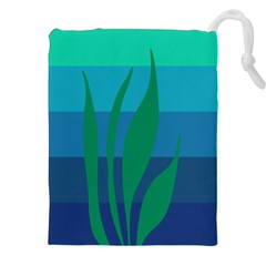 Gender Sea Flags Leaf Drawstring Pouches (xxl) by Mariart