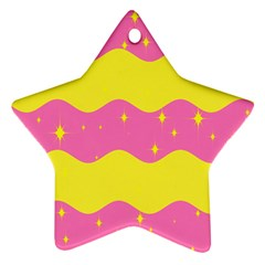 Glimra Gender Flags Star Space Ornament (star) by Mariart