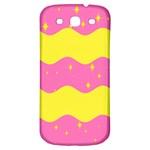 Glimra Gender Flags Star Space Samsung Galaxy S3 S III Classic Hardshell Back Case Front