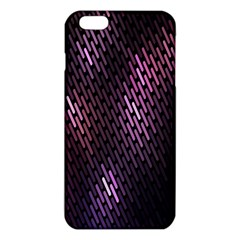 Light Lines Purple Black Iphone 6 Plus/6s Plus Tpu Case by Mariart