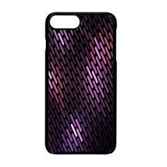 Light Lines Purple Black Apple Iphone 7 Plus Seamless Case (black) by Mariart