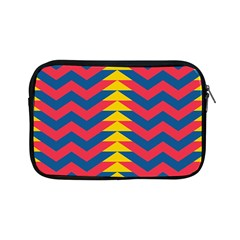 Lllustration Geometric Red Blue Yellow Chevron Wave Line Apple Ipad Mini Zipper Cases by Mariart