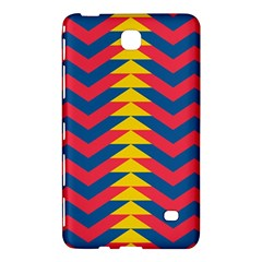 Lllustration Geometric Red Blue Yellow Chevron Wave Line Samsung Galaxy Tab 4 (8 ) Hardshell Case  by Mariart