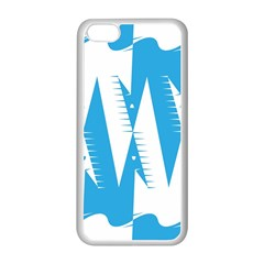Make Tessellation Bird Tessellation Blue White Apple Iphone 5c Seamless Case (white) by Mariart
