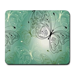 Glass Splashback Abstract Pattern Butterfly Large Mousepads