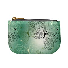 Glass Splashback Abstract Pattern Butterfly Mini Coin Purses by Mariart