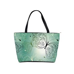 Glass Splashback Abstract Pattern Butterfly Shoulder Handbags by Mariart