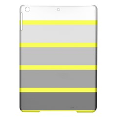 Molly Gender Line Flag Yellow Grey Ipad Air Hardshell Cases by Mariart