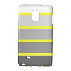 Molly Gender Line Flag Yellow Grey Galaxy Note Edge by Mariart