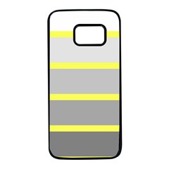 Molly Gender Line Flag Yellow Grey Samsung Galaxy S7 Black Seamless Case by Mariart