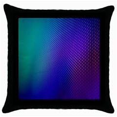 Galaxy Blue Purple Throw Pillow Case (black) by Mariart