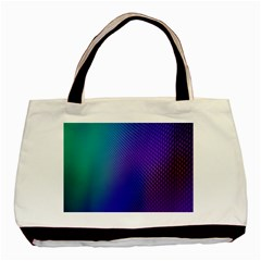 Galaxy Blue Purple Basic Tote Bag by Mariart