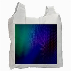 Galaxy Blue Purple Recycle Bag (one Side) by Mariart