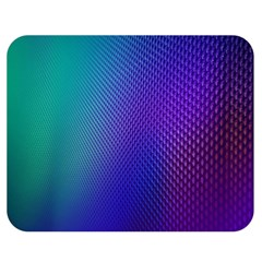 Galaxy Blue Purple Double Sided Flano Blanket (medium)  by Mariart