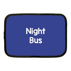 Night Bus New Blue Netbook Case (medium)  by Mariart