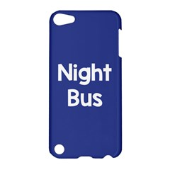 Night Bus New Blue Apple Ipod Touch 5 Hardshell Case by Mariart