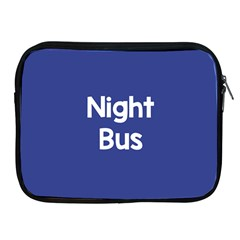 Night Bus New Blue Apple Ipad 2/3/4 Zipper Cases by Mariart
