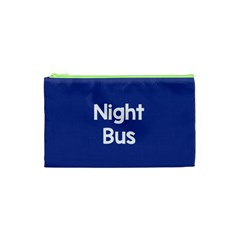 Night Bus New Blue Cosmetic Bag (xs)