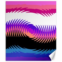 Mutare Mutaregender Flags Canvas 20  X 24   by Mariart
