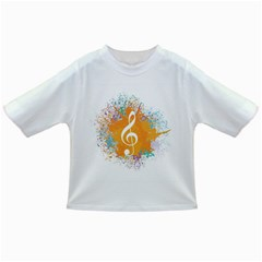 Musical Notes Infant/toddler T-shirts