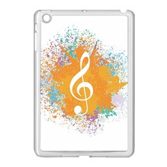 Musical Notes Apple Ipad Mini Case (white) by Mariart