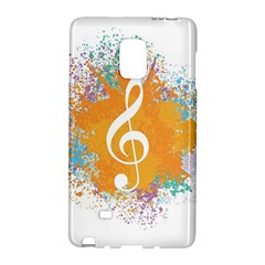 Musical Notes Galaxy Note Edge by Mariart
