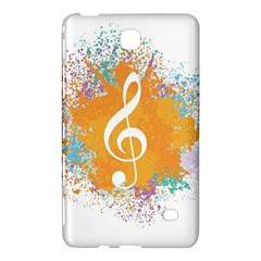 Musical Notes Samsung Galaxy Tab 4 (8 ) Hardshell Case  by Mariart