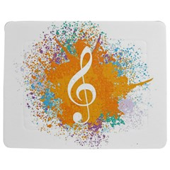Musical Notes Jigsaw Puzzle Photo Stand (rectangular) by Mariart