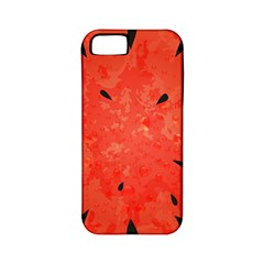 Summer Watermelon Design Apple Iphone 5 Classic Hardshell Case (pc+silicone) by TastefulDesigns