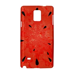 Summer Watermelon Design Samsung Galaxy Note 4 Hardshell Case by TastefulDesigns