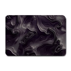 Map Curves Dark Small Doormat  by Mariart