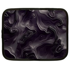Map Curves Dark Netbook Case (xl)  by Mariart