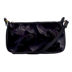 Map Curves Dark Shoulder Clutch Bags by Mariart