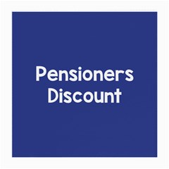 Pensioners Discount Sale Blue Medium Glasses Cloth by Mariart