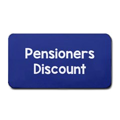 Pensioners Discount Sale Blue Medium Bar Mats by Mariart