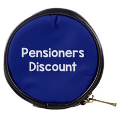 Pensioners Discount Sale Blue Mini Makeup Bags by Mariart