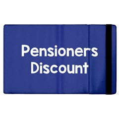 Pensioners Discount Sale Blue Apple Ipad 3/4 Flip Case by Mariart