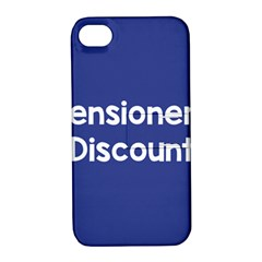 Pensioners Discount Sale Blue Apple Iphone 4/4s Hardshell Case With Stand by Mariart