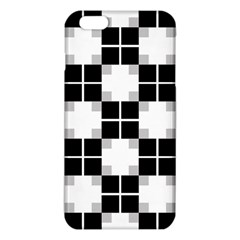 Plaid Black White Iphone 6 Plus/6s Plus Tpu Case by Mariart