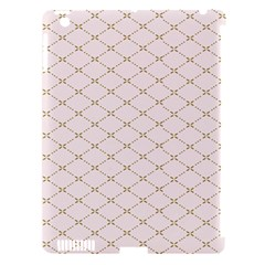 Plaid Star Flower Iron Apple Ipad 3/4 Hardshell Case (compatible With Smart Cover) by Mariart