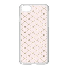 Plaid Star Flower Iron Apple Iphone 7 Seamless Case (white) by Mariart