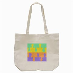 Puzzle Gender Tote Bag (cream) by Mariart