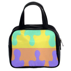 Puzzle Gender Classic Handbags (2 Sides) by Mariart