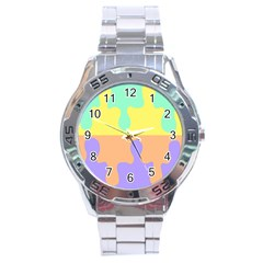 Puzzle Gender Stainless Steel Analogue Watch