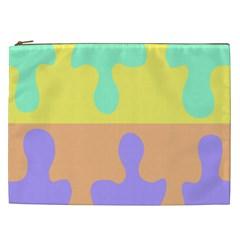 Puzzle Gender Cosmetic Bag (xxl)  by Mariart