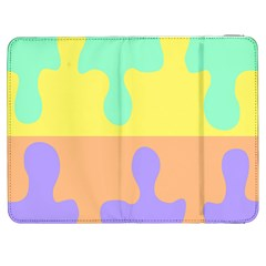 Puzzle Gender Samsung Galaxy Tab 7  P1000 Flip Case by Mariart